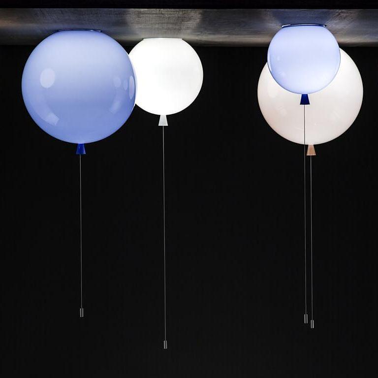 Светильники шарики на потолке