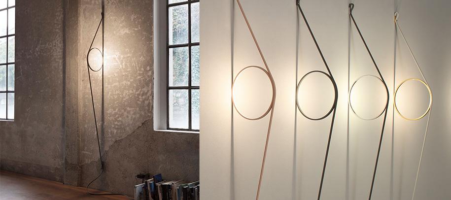 Светильники Wirering от Flos