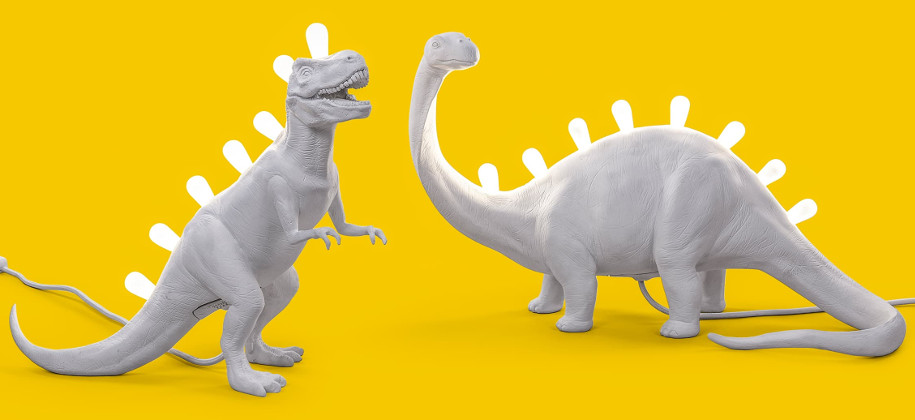 Настольные светильники Jurassic Lamp, Seletti