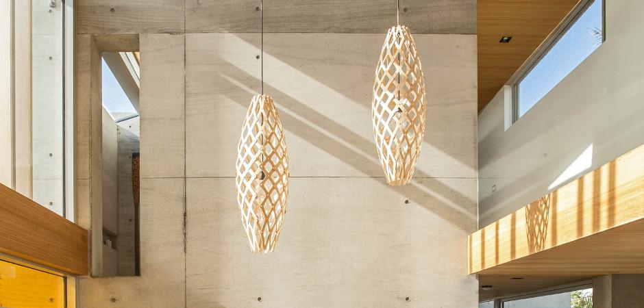 Подвесной светильник Hīnaki, Davide Truebridge