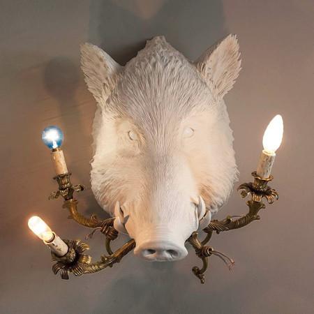 """Настенный светильник """"Whats a Boar!"""", Seletti"""