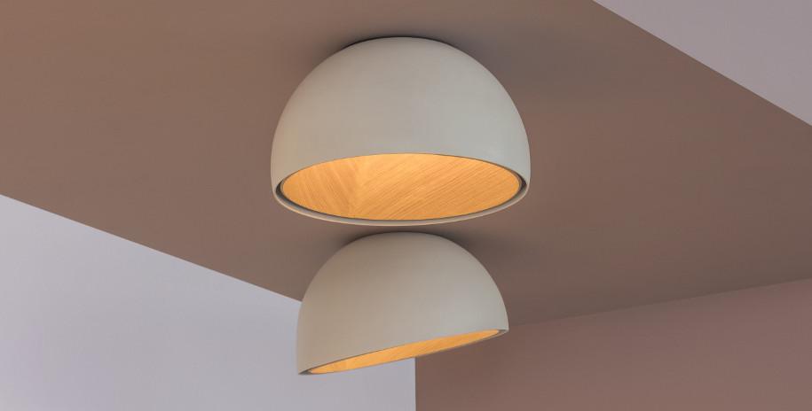 Потолочный светильник Duo, Vibia