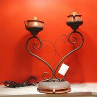 Bellon 220010 brown лампа настольная