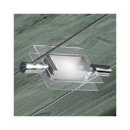 Leucos 11206040601Светильник хром д/уст.на шину архитектурное освещение